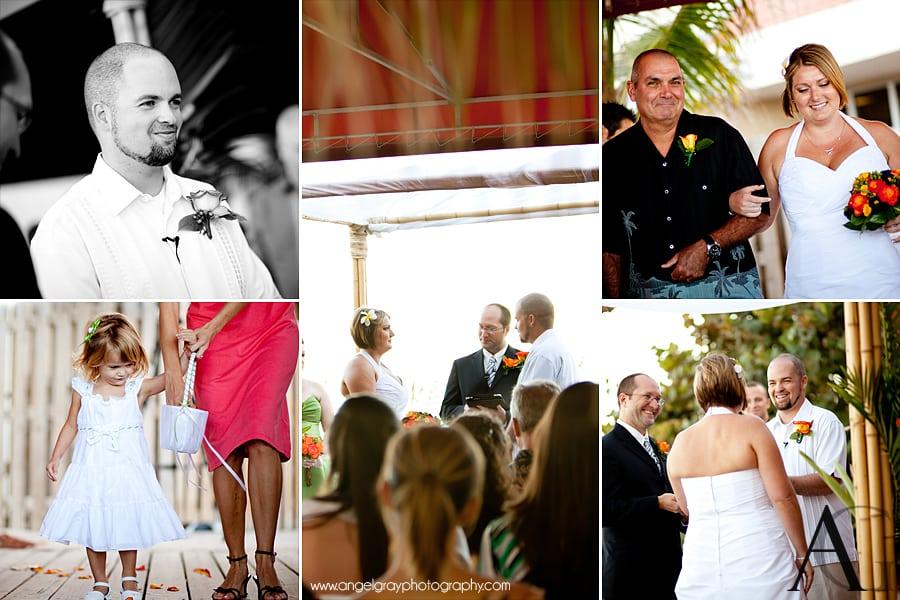 Wedding Hilton Oceanfront Beach