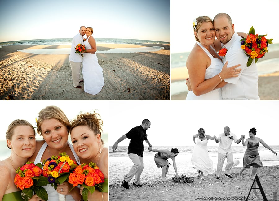Wedding Hilton Oceanfront Portraits