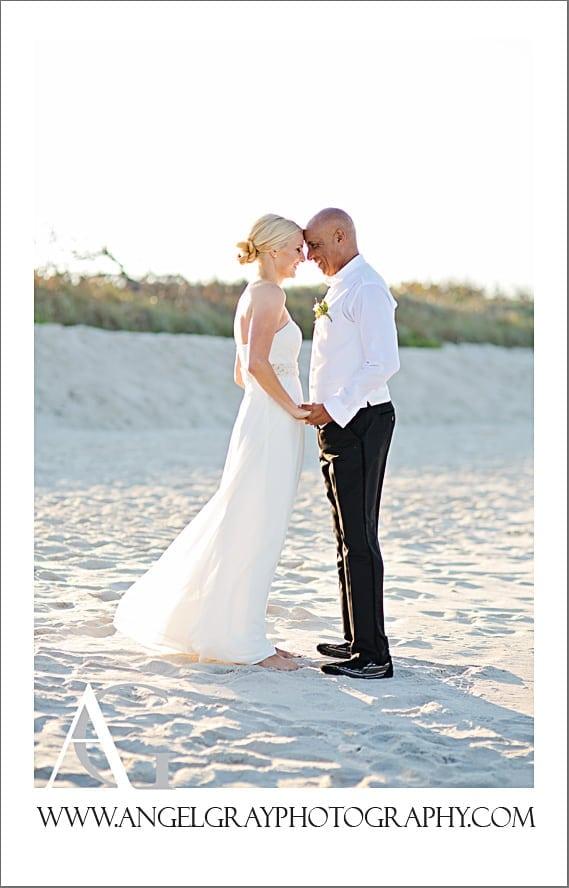 Intimate Beach Wedding Sanna And Fidgi St Augustine Florida Photographer Angel Gray Photography