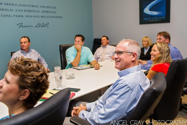 brand photography board room