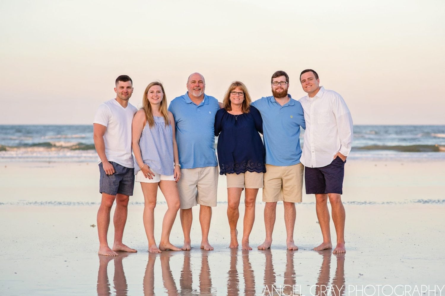 extended family vacation photography