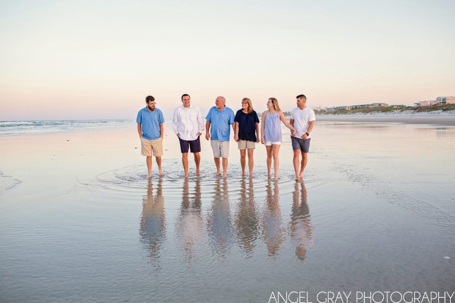 family vacation beach photography