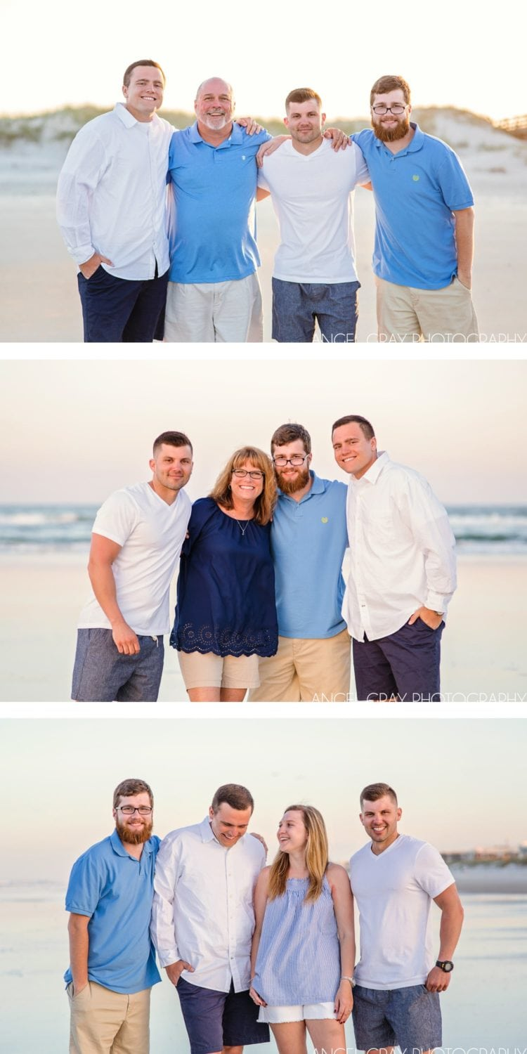 family vacation photography