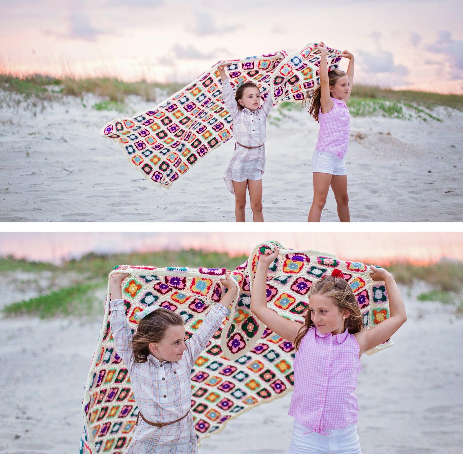 sisters beach portrait