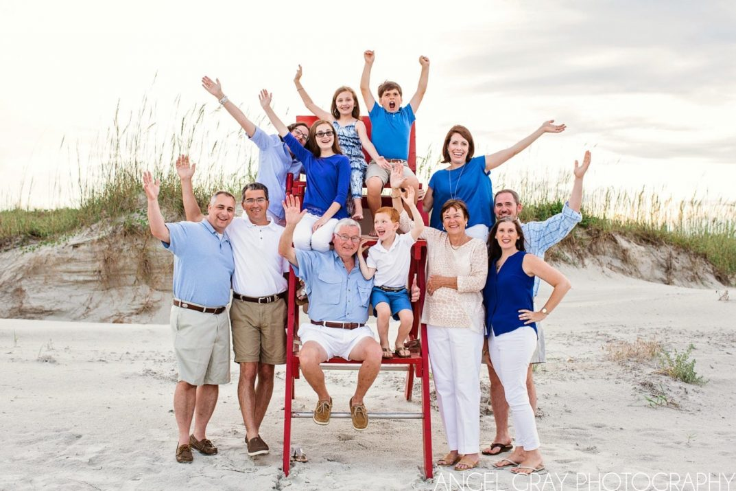 family session st. augustine beach