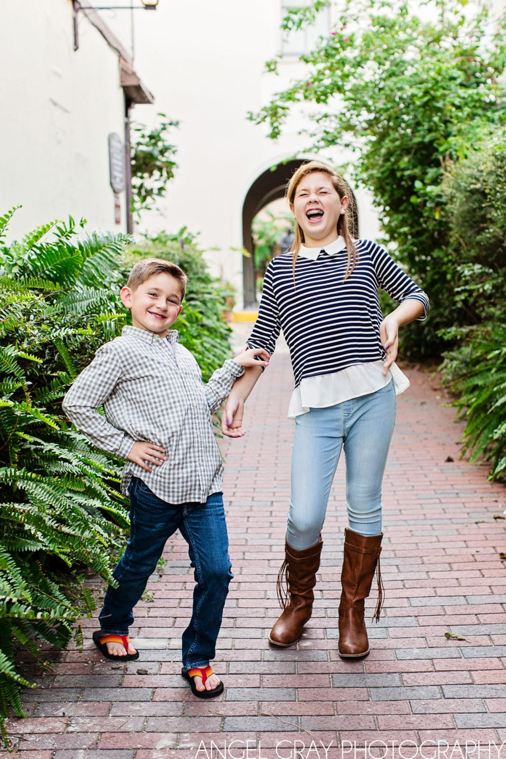 downtown St. Augustine family photography