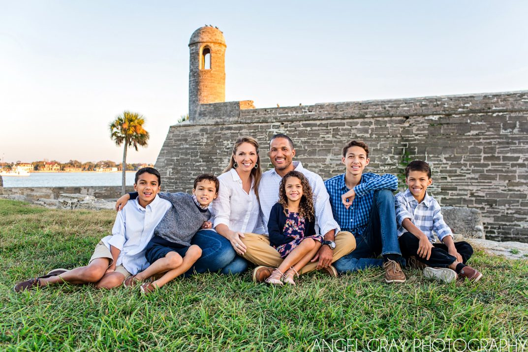 Downtown St. Augustine family photographer